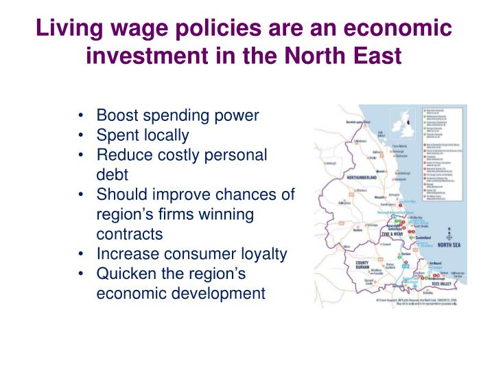 Living wage policies are an economic investment in the North East