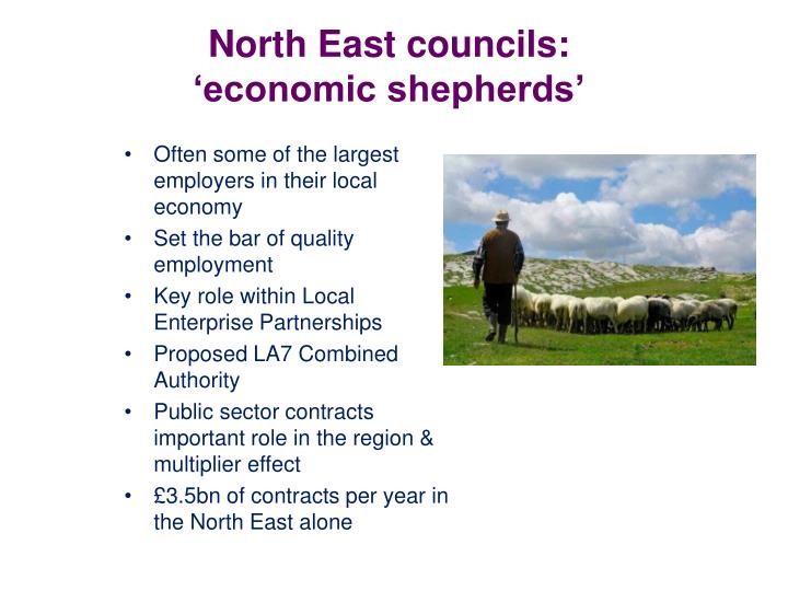North East councils: