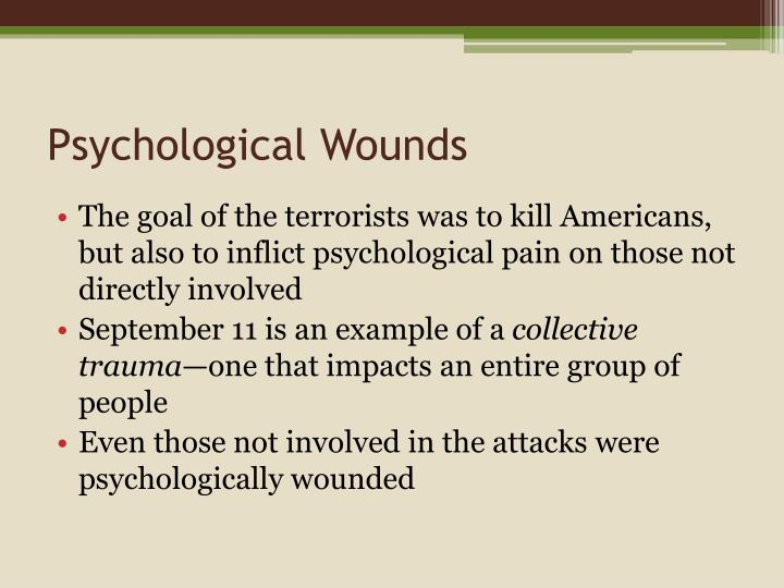 Psychological Wounds