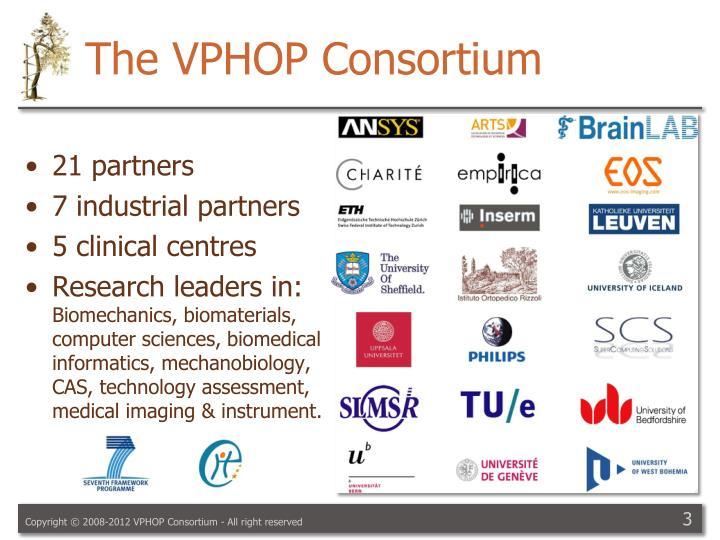 The VPHOP Consortium