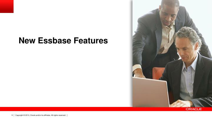 New Essbase Features