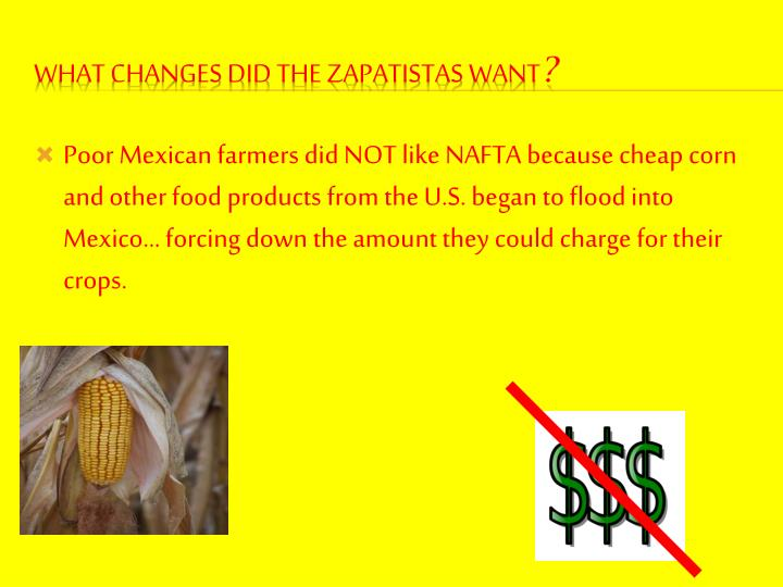 Poor Mexican farmers