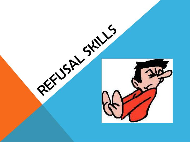 5 1 refusal skills work file 51 refusal skills work file read each of the case studies located on the 51  activities  part 1 using the refusal skills sequence, complete the case scenario  by.