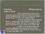 god s name name tag names