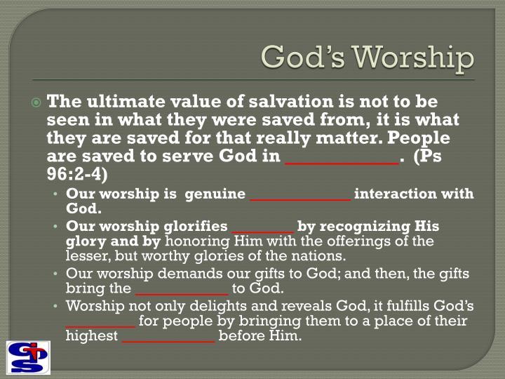 God's Worship