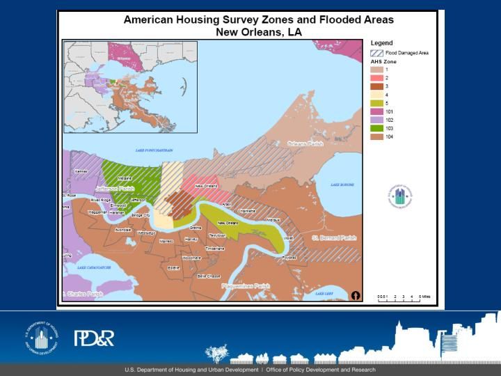 American housing survey preliminary findings from the 2009 new orleans metropolitan survey