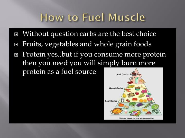 How to Fuel Muscle
