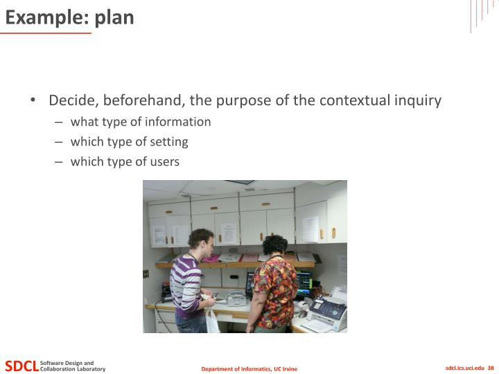 Example: plan