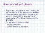 boundary value problems1