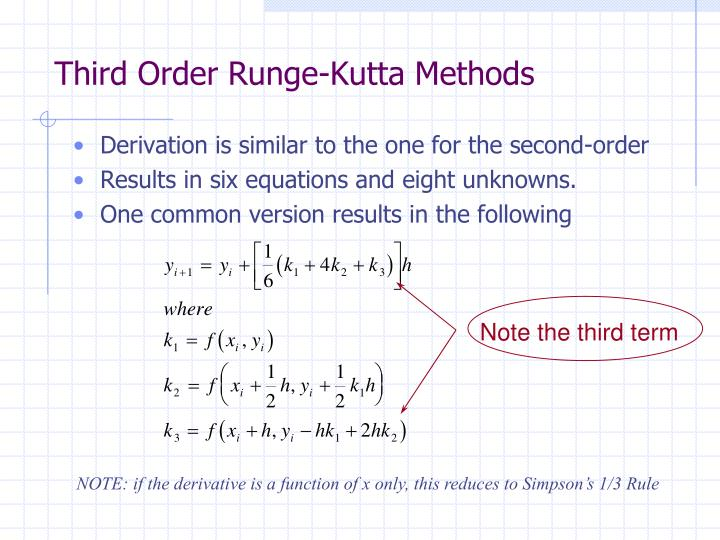 Third Order Runge-Kutta Methods