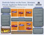 pesticide safety on the farm montana private applicator behavioral trends