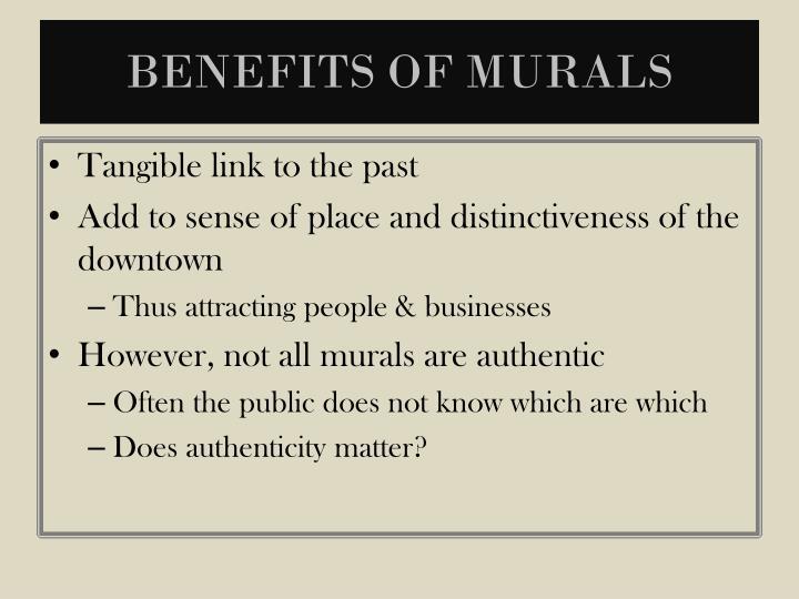 Benefits of Murals