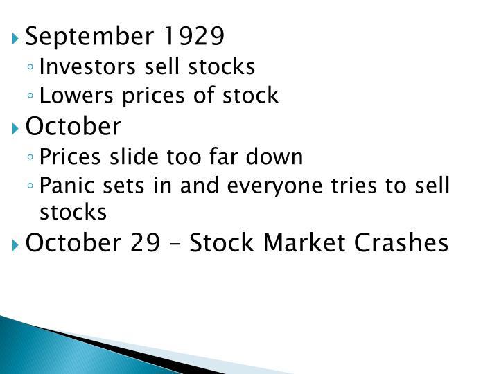 September 1929