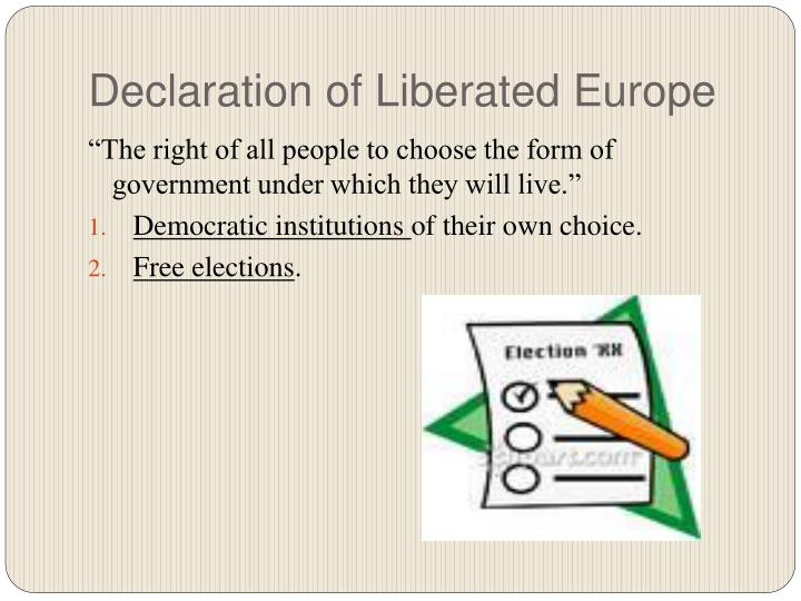 Declaration of Liberated Europe