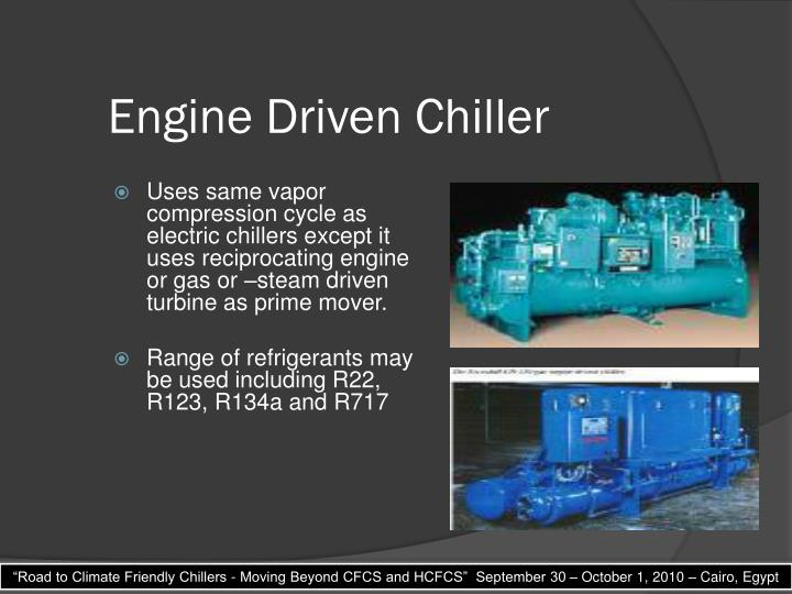 Engine Driven Chiller