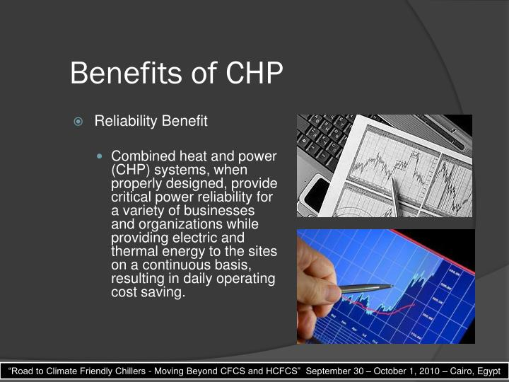 Benefits of CHP