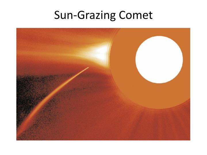 Sun-Grazing Comet