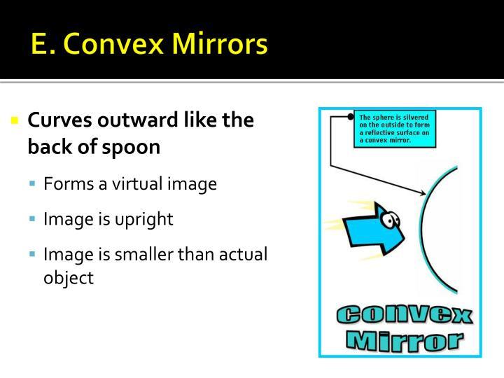 E. Convex Mirrors