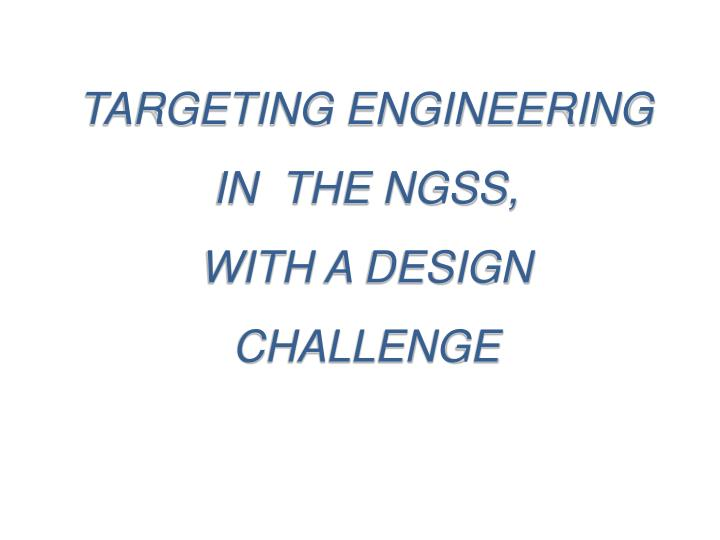 TARGETING ENGINEERING