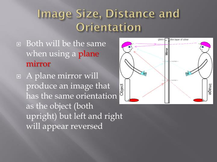 Image Size, Distance