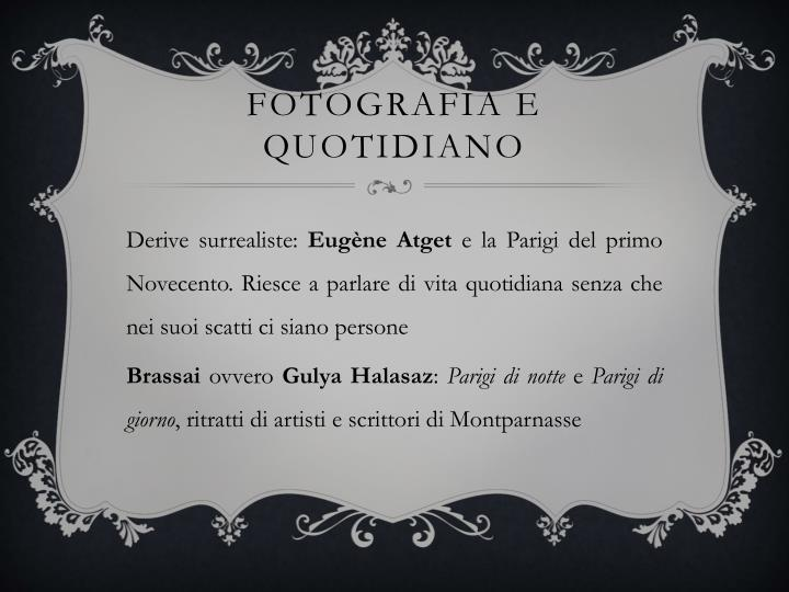 Fotografia e quotidiano
