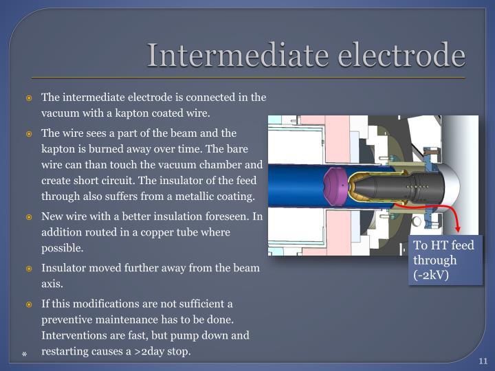 Intermediate electrode