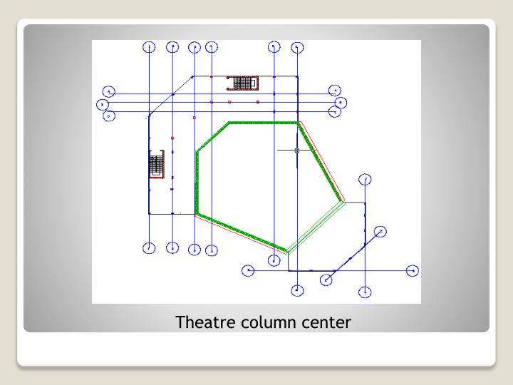 Theatre column center