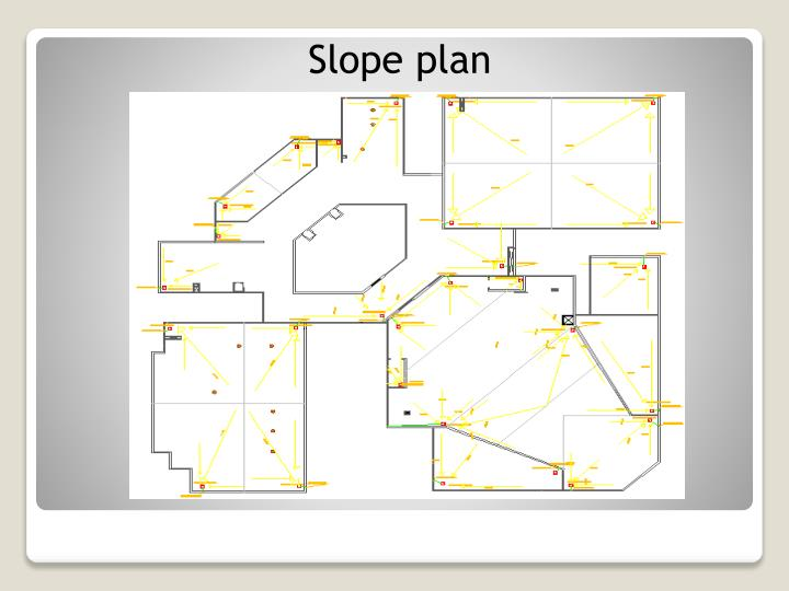 Slope plan