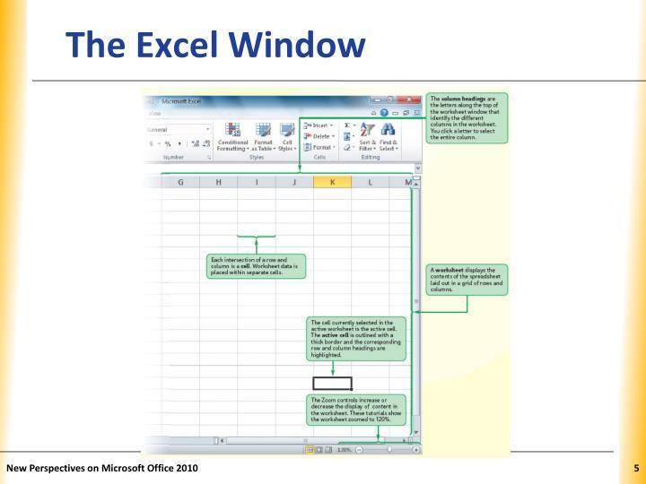 The Excel Window