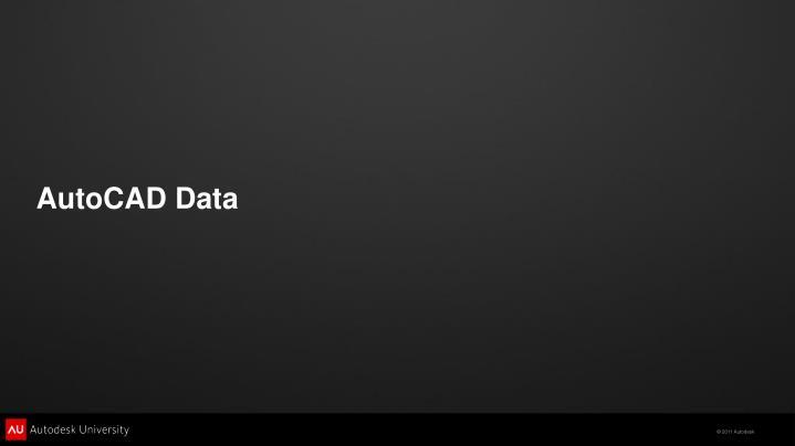 AutoCAD Data