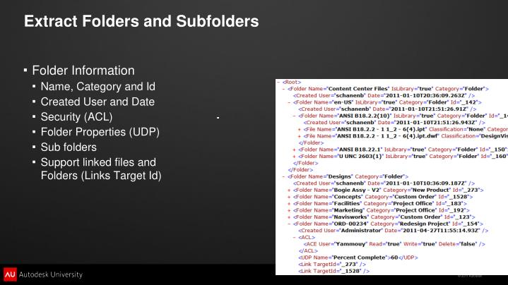 Extract Folders and Subfolders