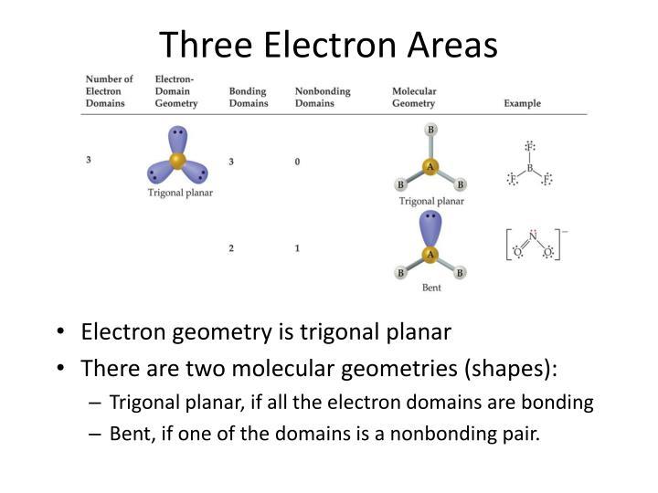 Three Electron Areas