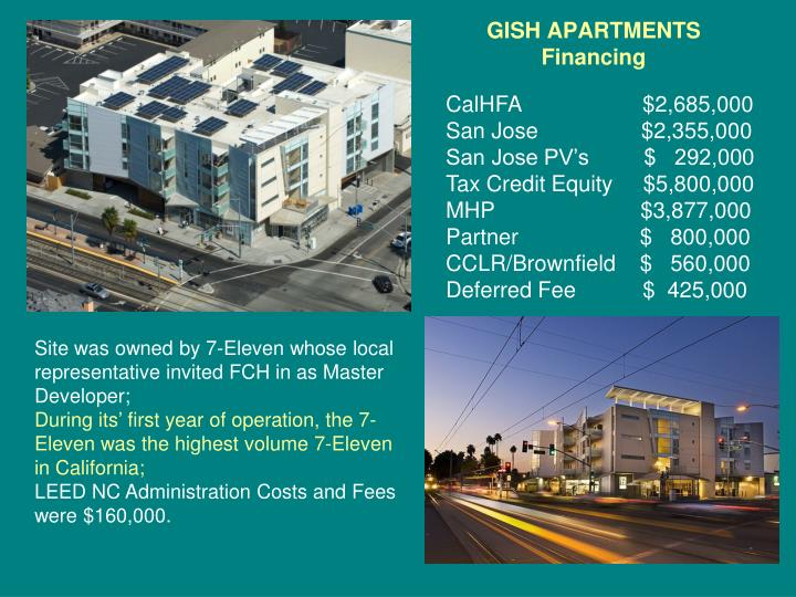 GISH APARTMENTS