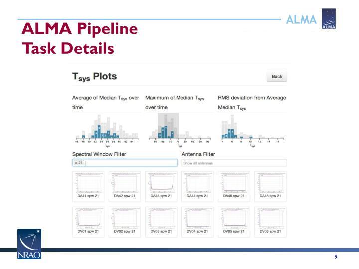 ALMA Pipeline