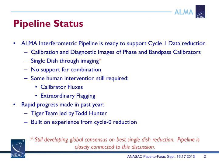 Pipeline Status