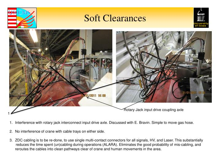 Soft Clearances