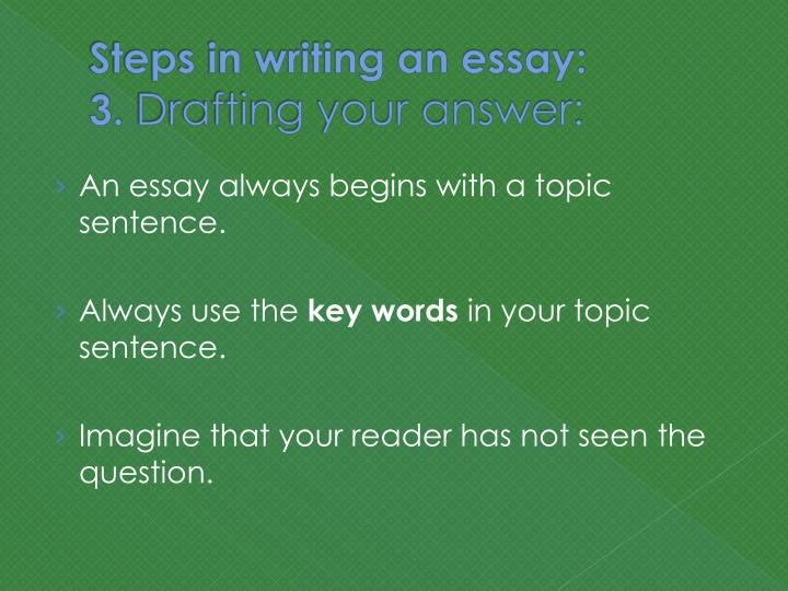 "steps in writing an essay You want to write an essay introduction that says, ""read me"" to learn how to write an essay introduction in 3 easy steps, keep reading."
