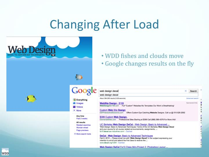 Changing After Load