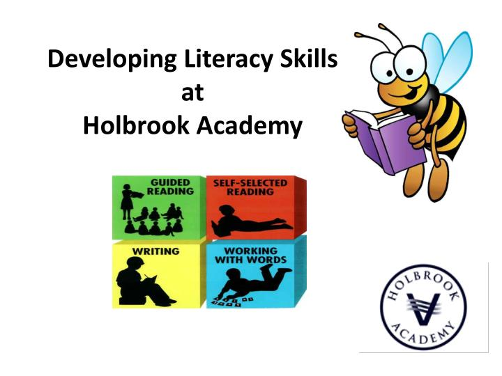 Developing literacy skills at holbrook academy
