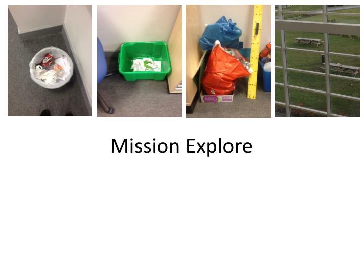 Mission Explore