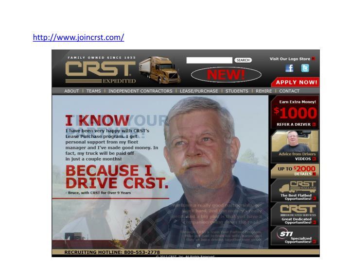 http://www.joincrst.com/