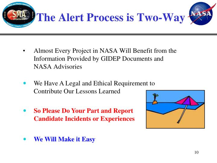 The Alert Process is Two-Way
