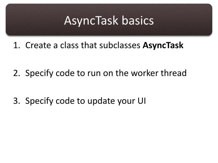 AsyncTask