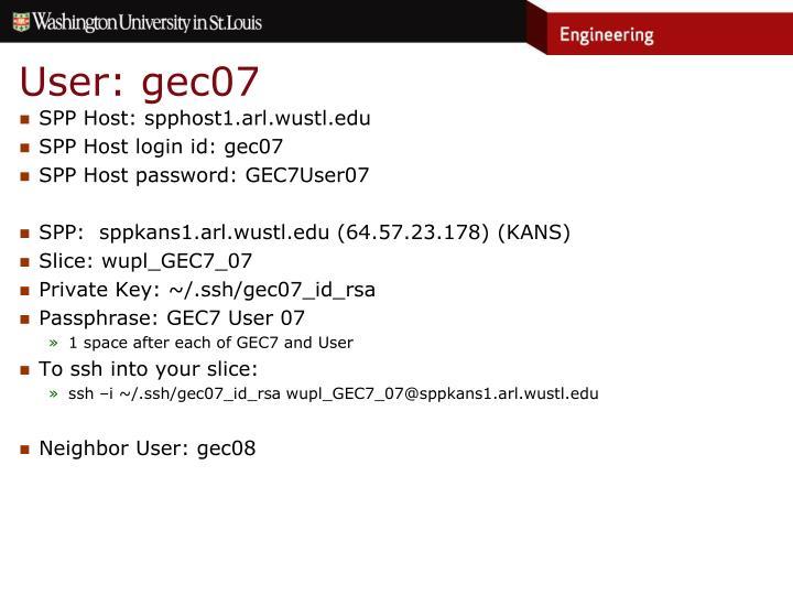 User: gec07