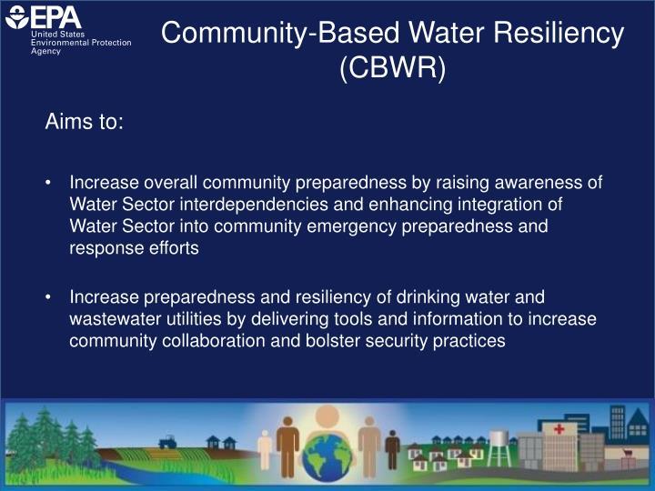 Community-Based Water Resiliency