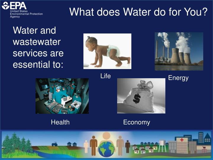 What does Water do for You?