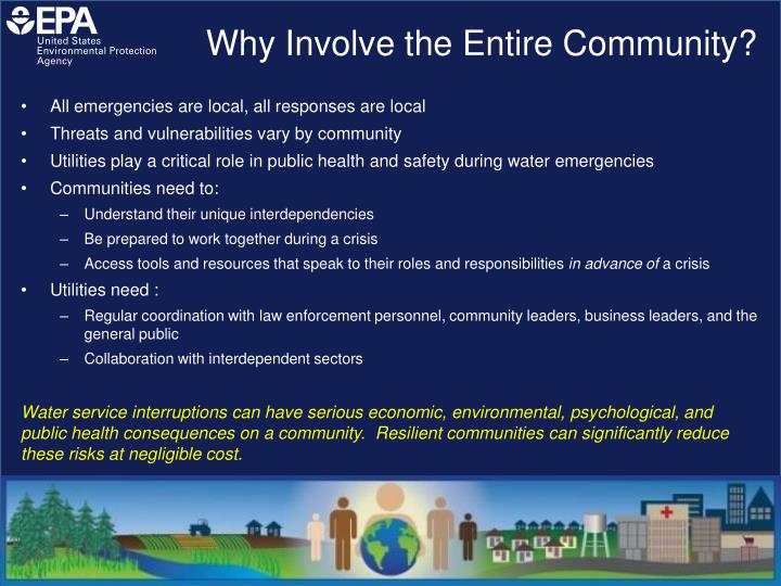 Why Involve the Entire Community?