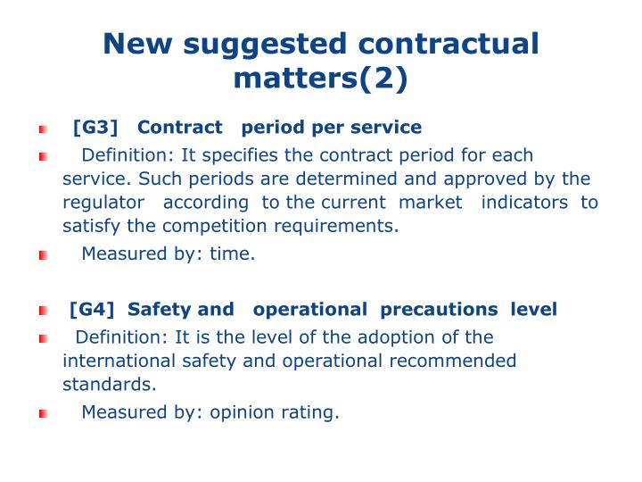 New suggested contractual matters(2)