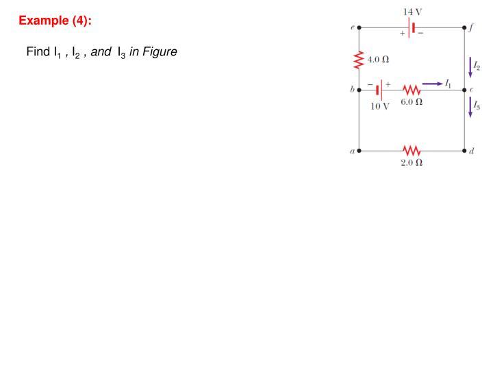 Example (4):