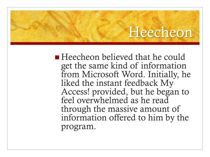 Heecheon